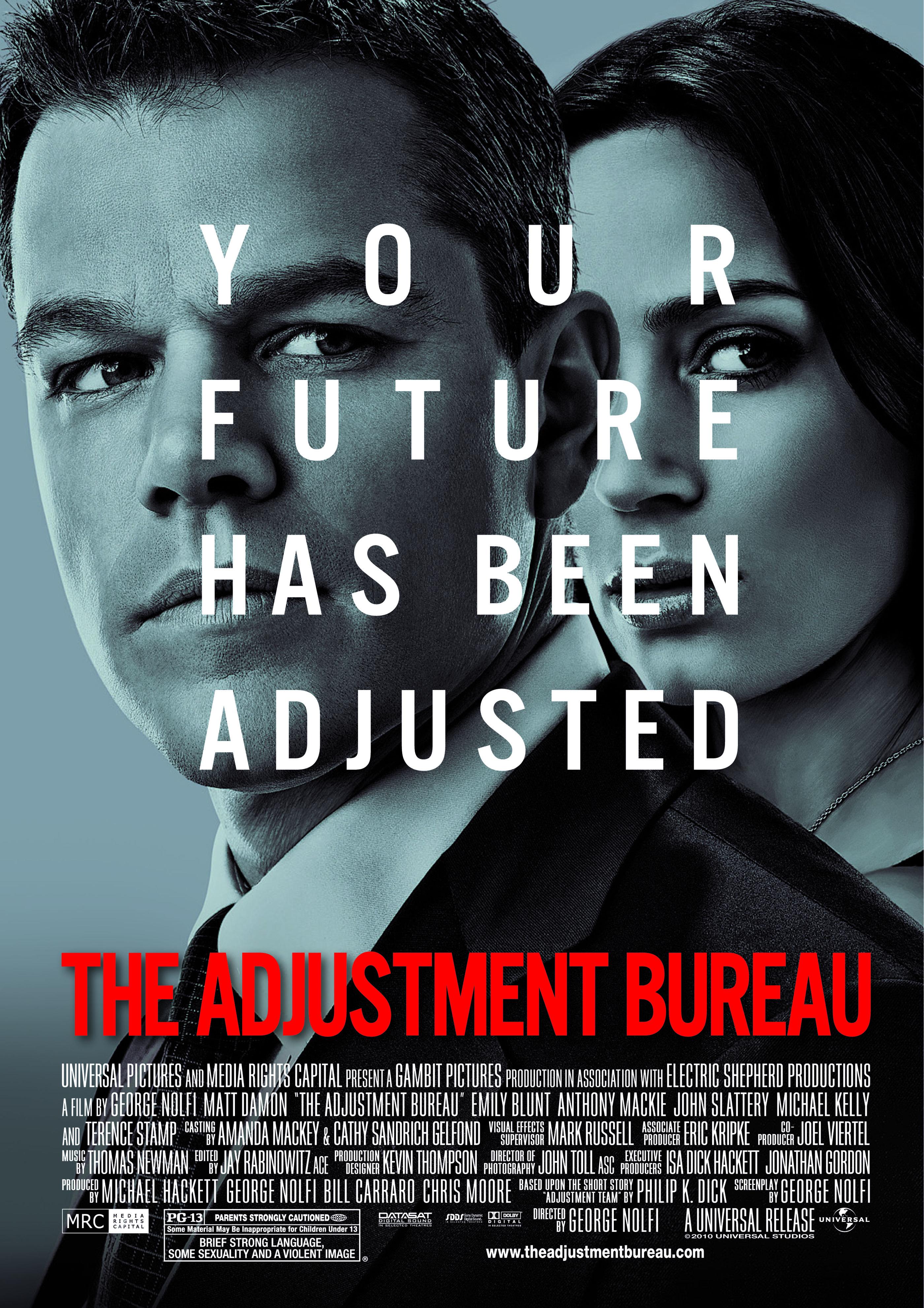 the adjustment bureau advance screening passes the reel place. Black Bedroom Furniture Sets. Home Design Ideas