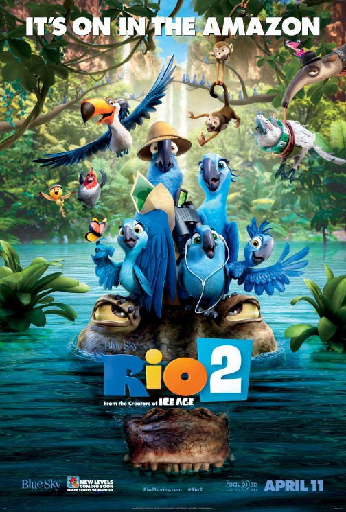 RIO 2 Poster Art Color