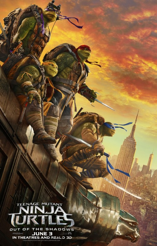 'Teenage Mutant Ninja Turtles: Out of the Shadows' Advance Screening Passes and Prize Pack Giveaway
