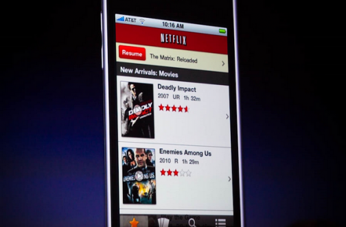 Netflix on the iPhone!
