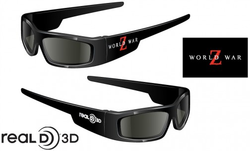 WWZ RealD Glasses art