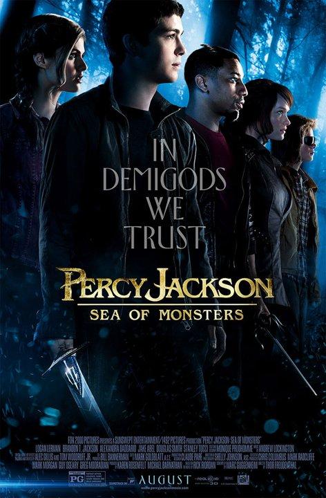 PERCY JACKSON Poster Art