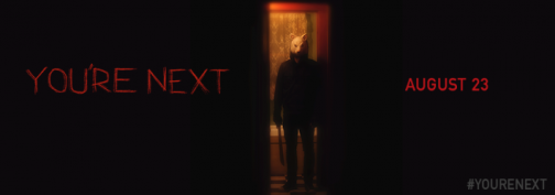 you're next banner