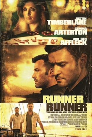 RUNNER RUNNER Poster Art