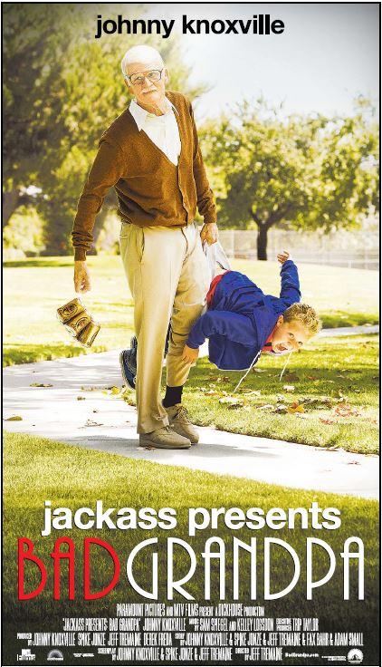 Bad Grandpa Poster