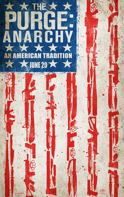 THE PURGE ANARCHY Poster Art - Color