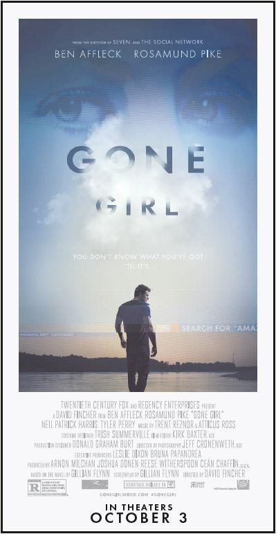 GONE GIRL Poster Art