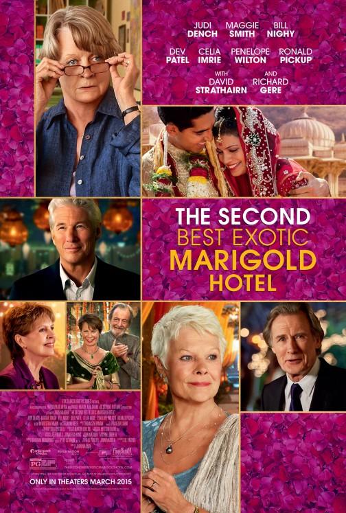 Marigold Hotel 2 - Poster Art
