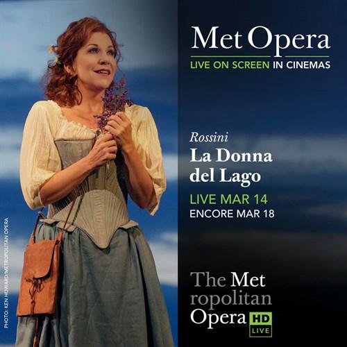 La Donna Del Lago Poster